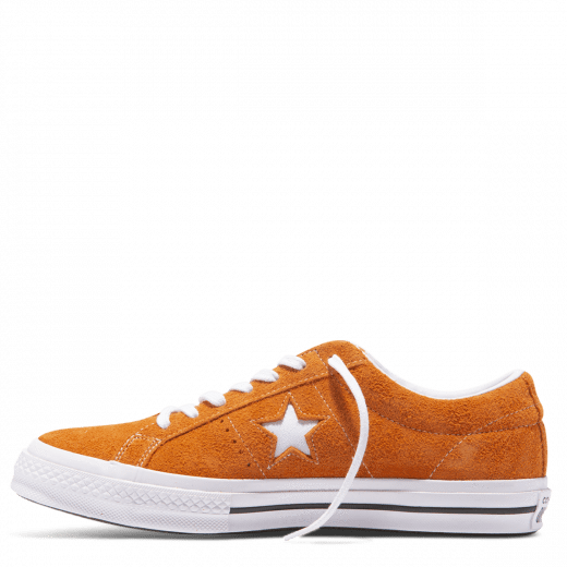 Converse One Star Vintage Suede Low MandarinWhite | Varga Girl