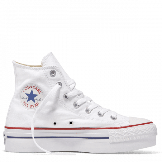 Converse Chuck Taylor All Star Platform Hi Top White