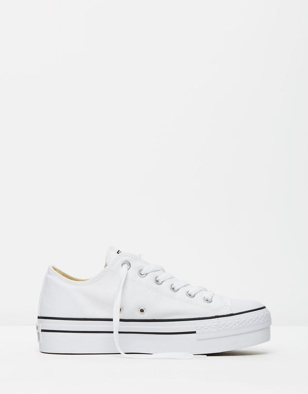 ae49aa191975 Converse Chuck Taylor All Star Platform Ox White