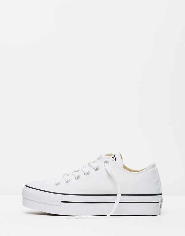 Converse Chuck Taylor All Star Platform Ox White