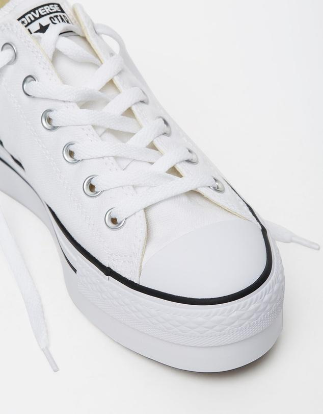 Converse / Chuck Taylor All Star Lift Canvas Ox / White