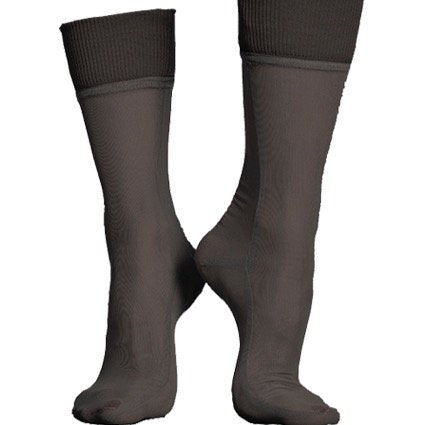Simone WIld Net Cuff Ankle Socks Black