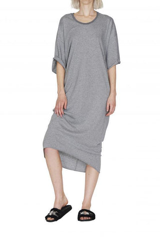 Empire Rose All Star Loose Dress Grey Marle