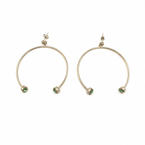 Justine Clenquet Gogo Earrings Gold