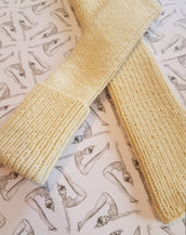 I Love Mr Mittens Winona Arm/Leg Warmers Cream Light Wool