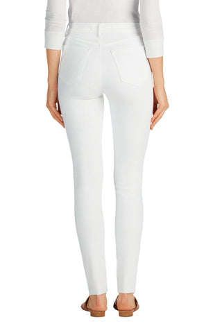 J Brand Maria High Rise Skinny Ankle Fray - Ripped