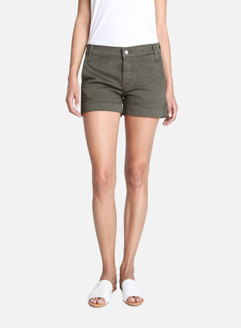 James Jeans Olivia Trouser Short in Deep Army