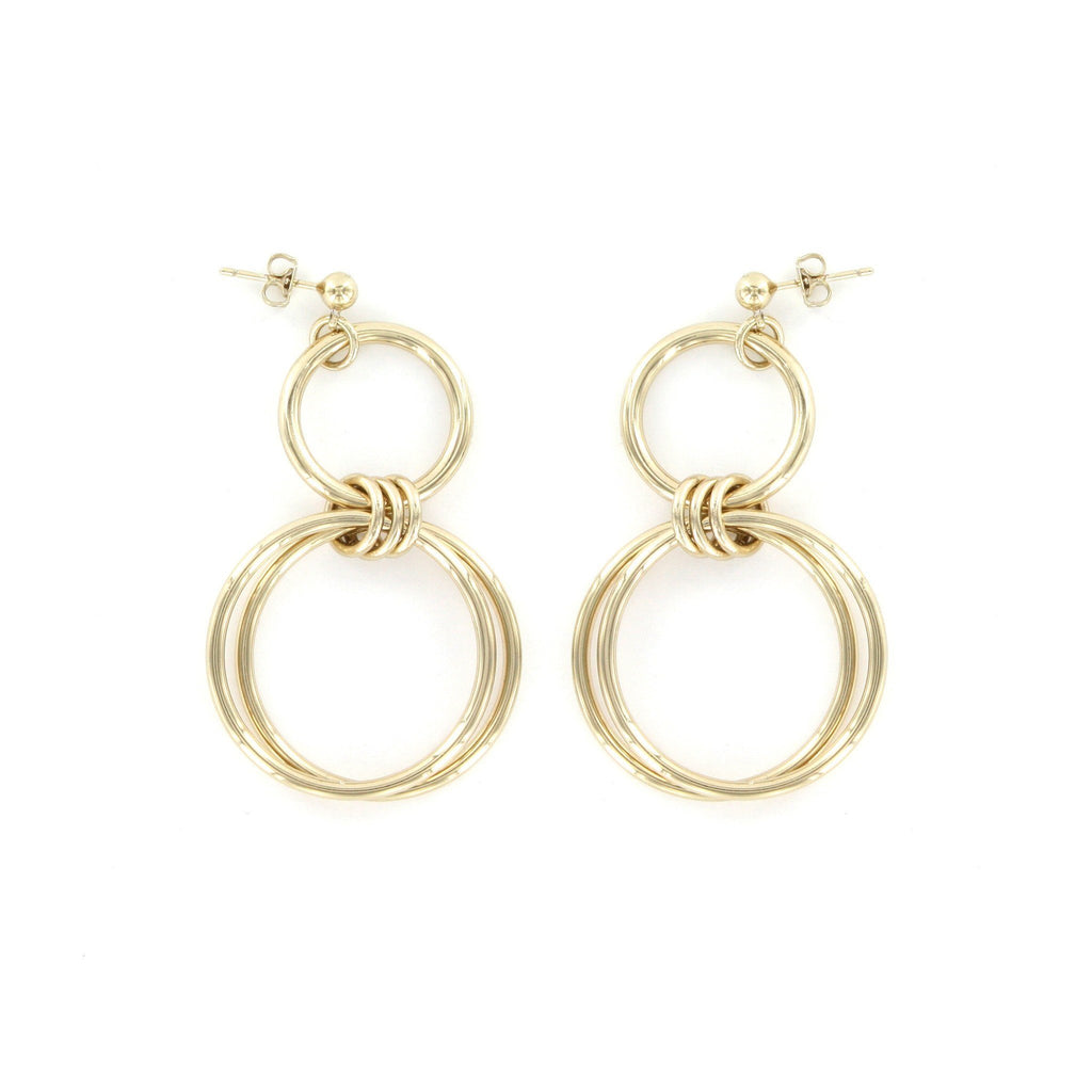 Justine Clenquet - Alice Earrings - Gold