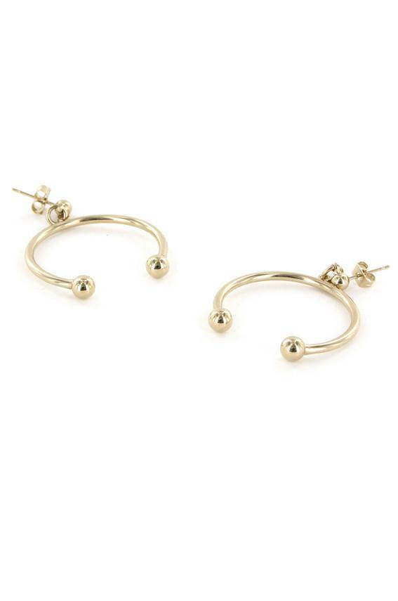Justine Clenquet / Anna Earrings Gold