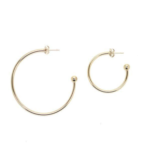 Justine Clenquet Grace Earrings in Gold