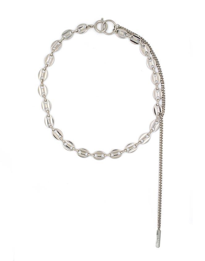 Justine Clenquet Jerry Necklace Palladium
