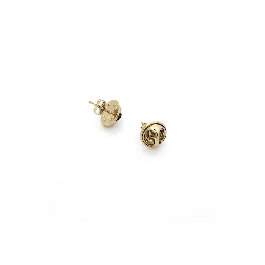Justine Clenquet Lola Earrings Pale Gold