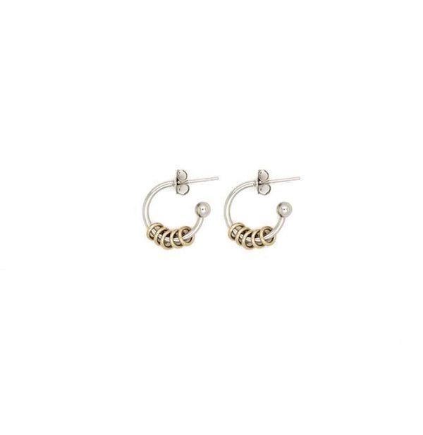 Justine Clenquet New Mini Gloria Earrings