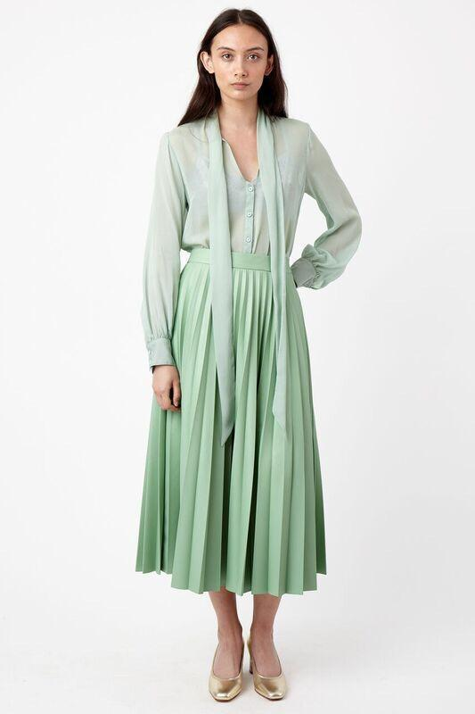 Kate Sylvester Quilla Shirt Mint