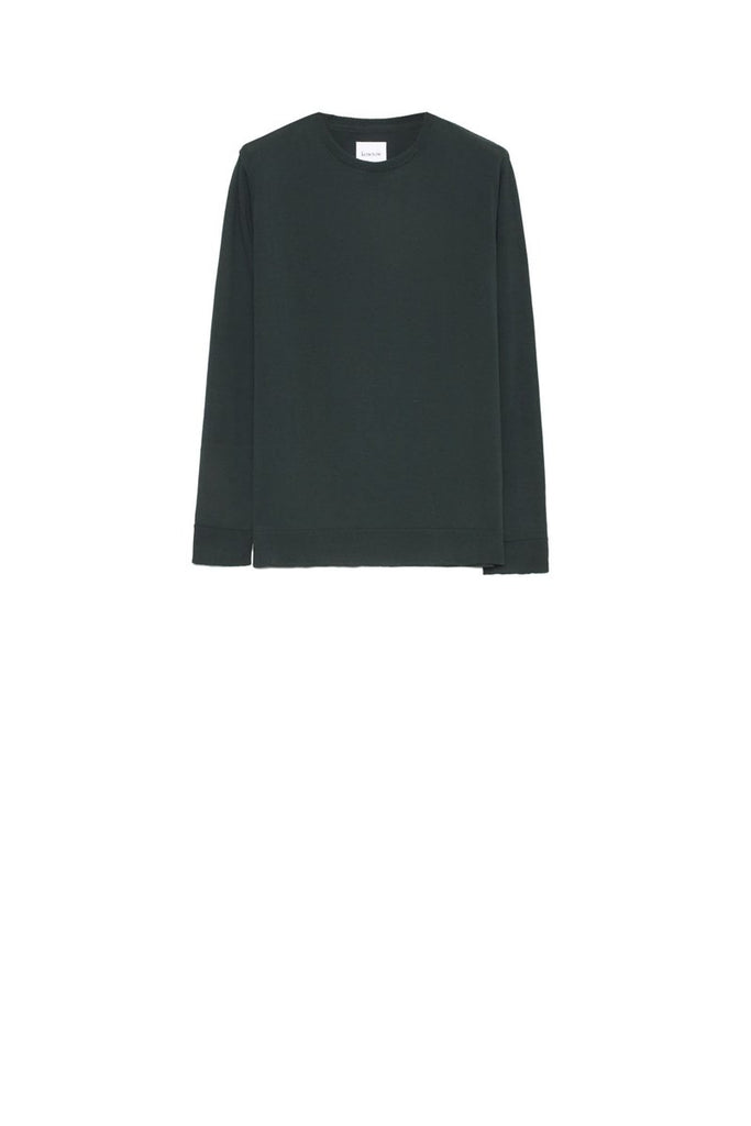 Kowtow Knit Boyfriend Top Bottle Green