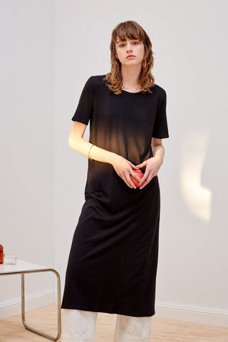 Kowtow Building Block T Shirt Dress Black
