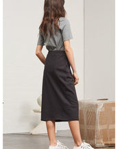 Kowtow / Building Block Skirt / Black Marle