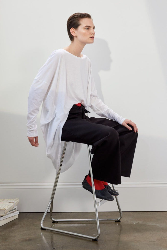 Kowtow Building Block Oversized Tee White