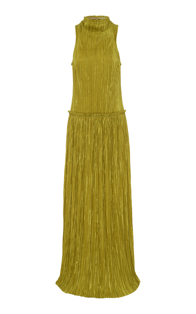 Anna Quan Mila Dress Chartreuse