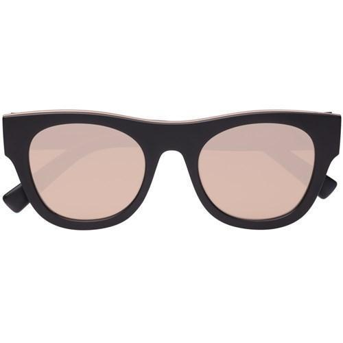 Le Specs Arcadia in Matte Black and Copper
