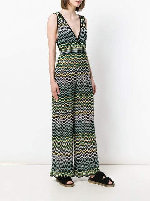 M Missoni Jumpsuit Black Multi