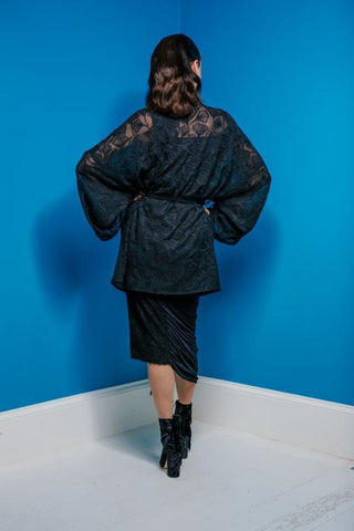 Maaike Element Jacket Black Embroidery