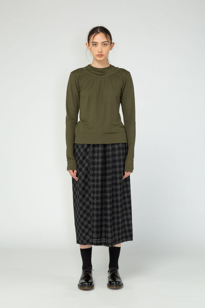 Nom*d Ritual Long Sleeve Top Khaki