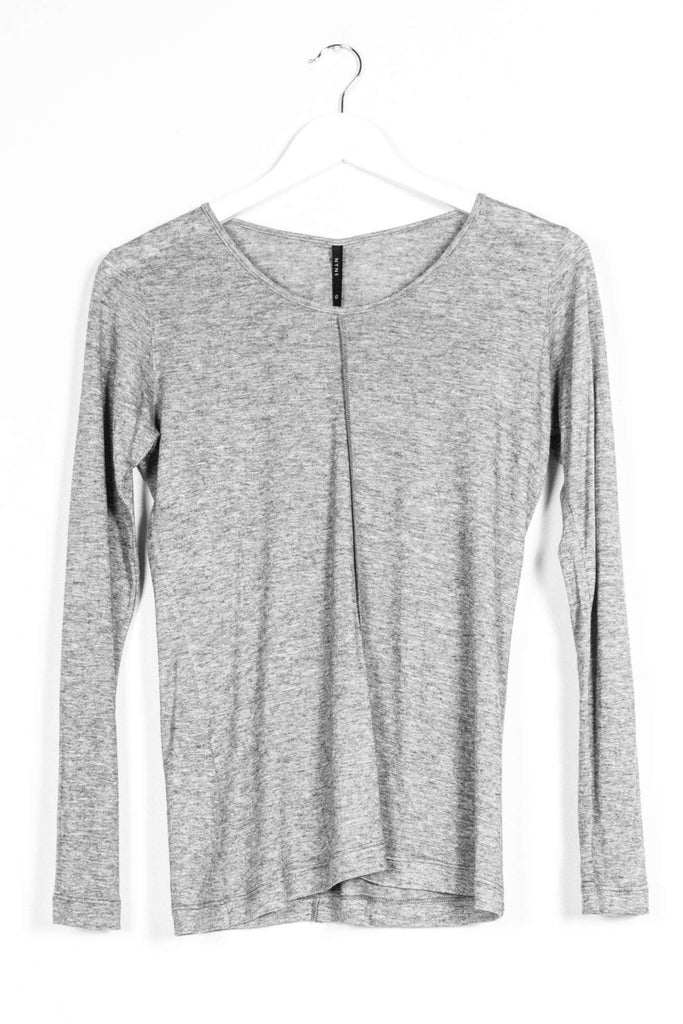 Nyne Base Longsleeve Top Grey Marle
