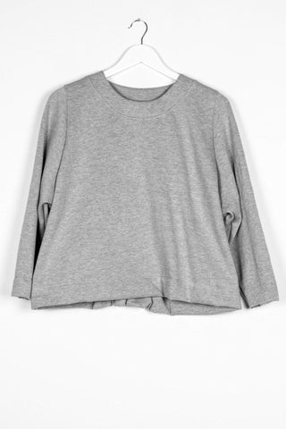 Nyne New York Jersey Jumper in Grey Marle