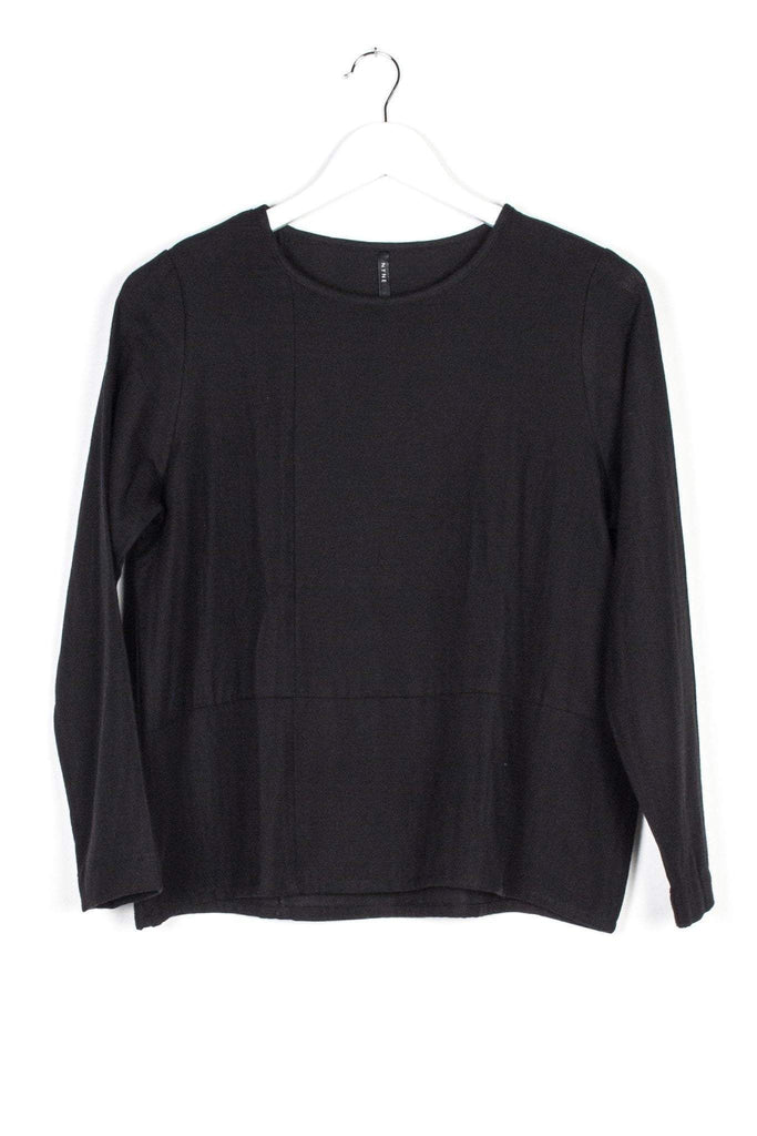 Nyne Vienna Long sleeve Top Black