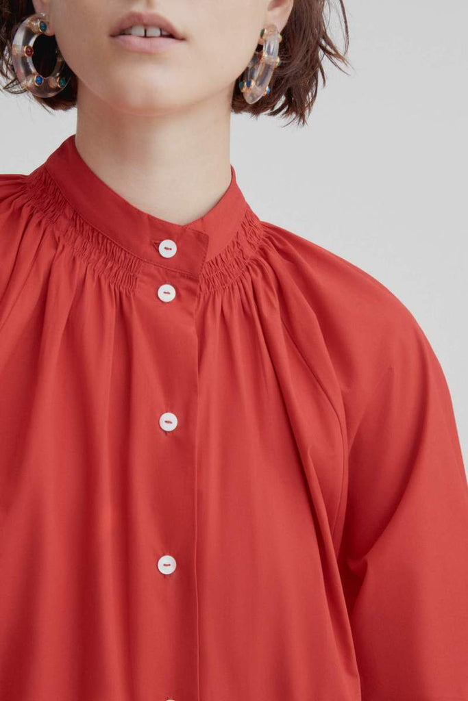 Kowtow Observer Dress Scarlet