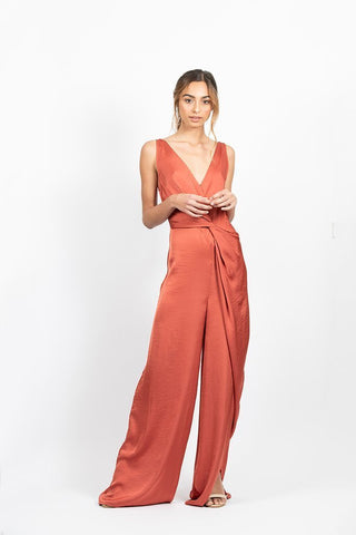 One Fell Swoop Olivia Jumpsuit Copper