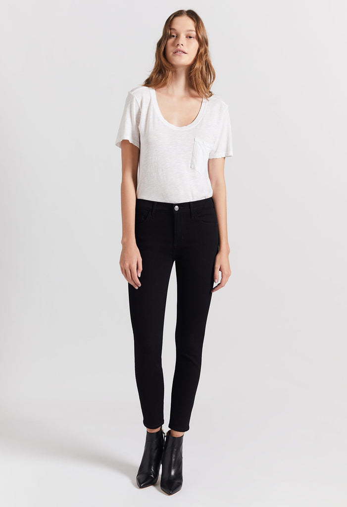 Current Elliot The Stiletto Jeans Clean Black