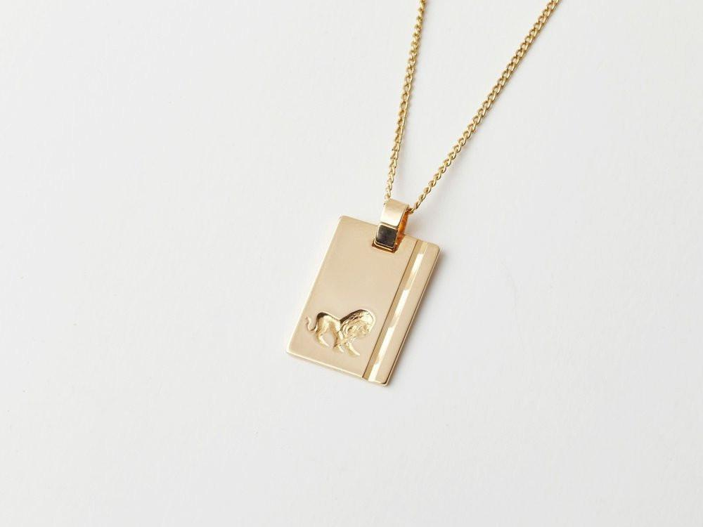 Reliquia Star Sign Necklace Leo in Gold
