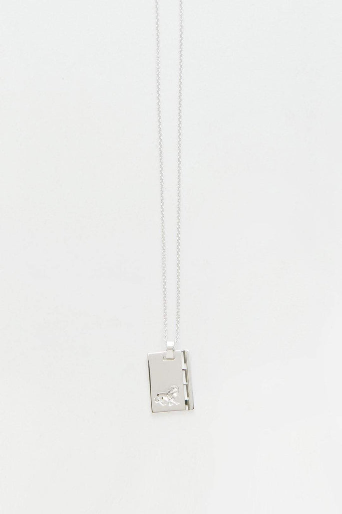 Reliquia Star Sign Necklace Leo Sterling Silver