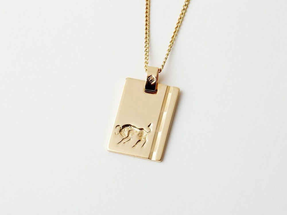 Reliquia Star Sign Necklace Taurus Gold