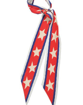 Rockins Super Skinny Scarf Americana Red