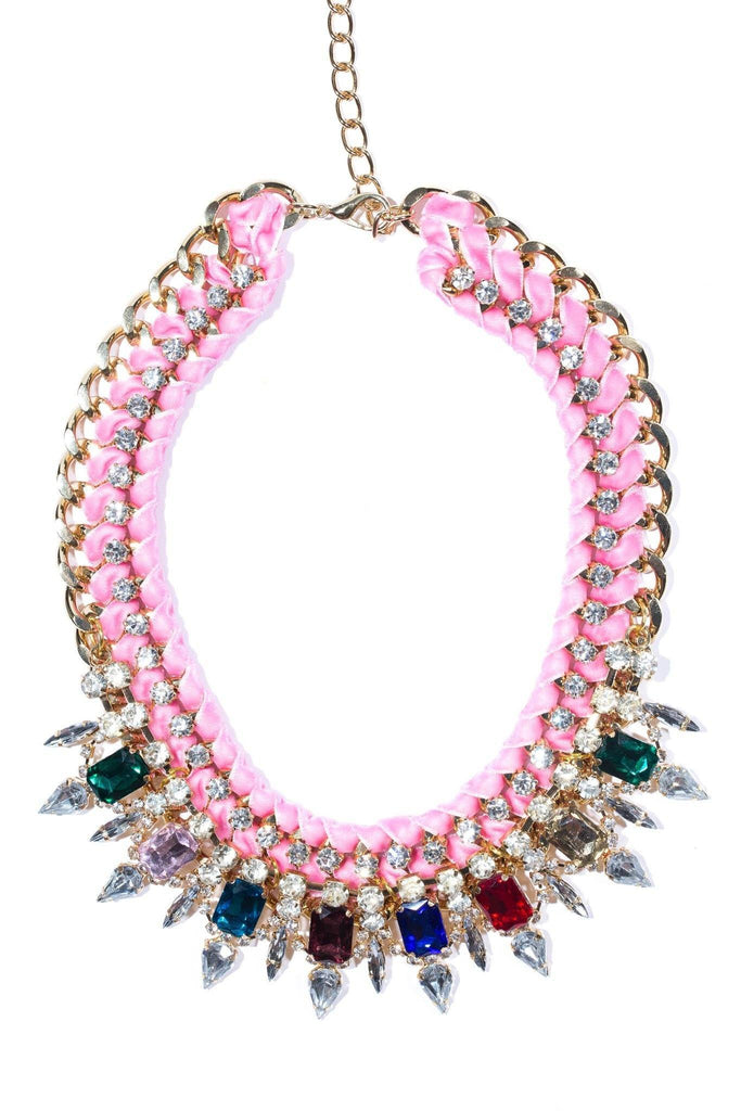 Rummage Pink Palace Necklace