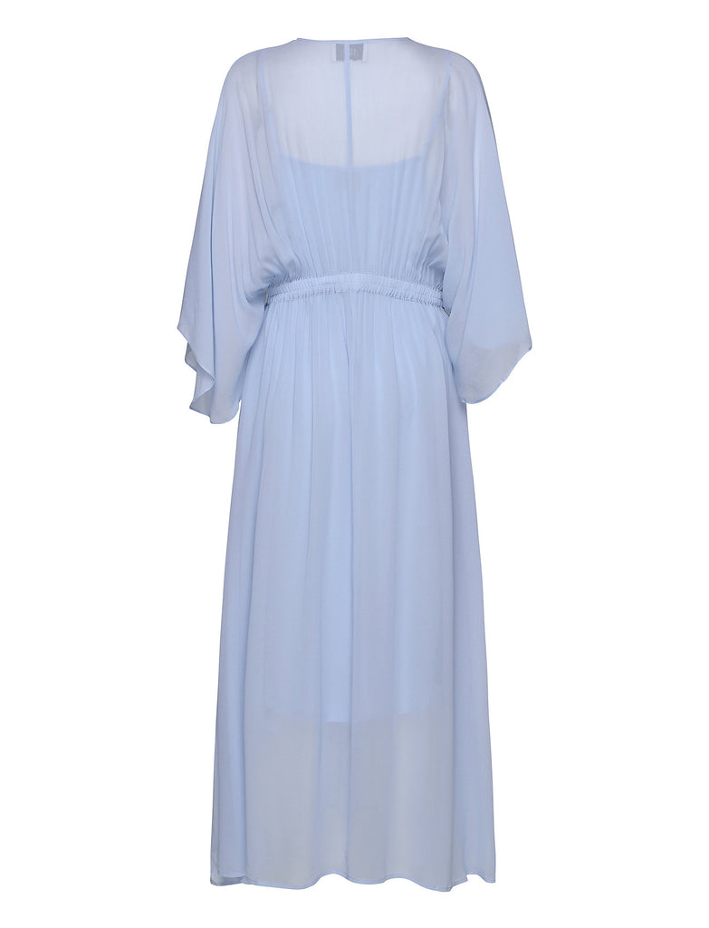 Second Female Tulipa Maxi Dress Brunerra Blue