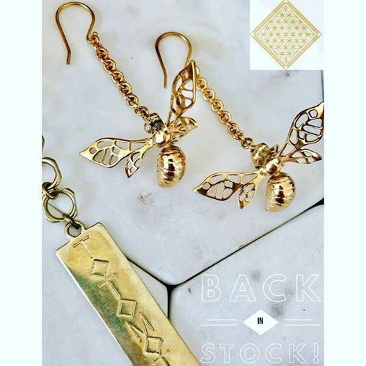 Totomoto Bee Earrings
