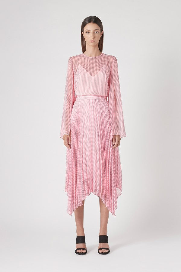 Camilla and Marc Miri Skirt Pink Gingham