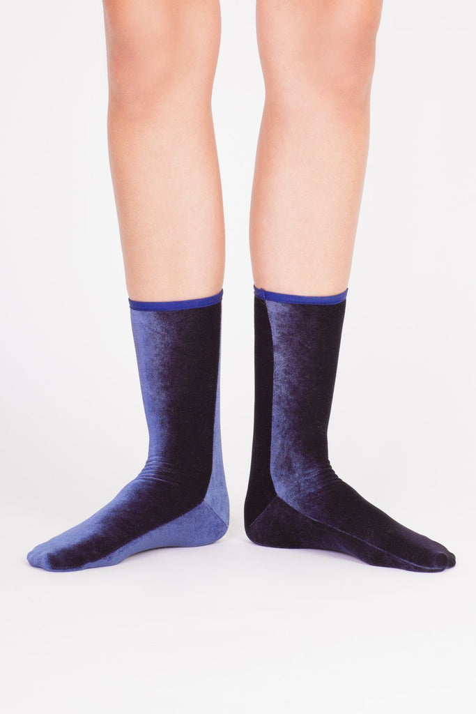 Velvet Sock's by Simone Wild / Navy