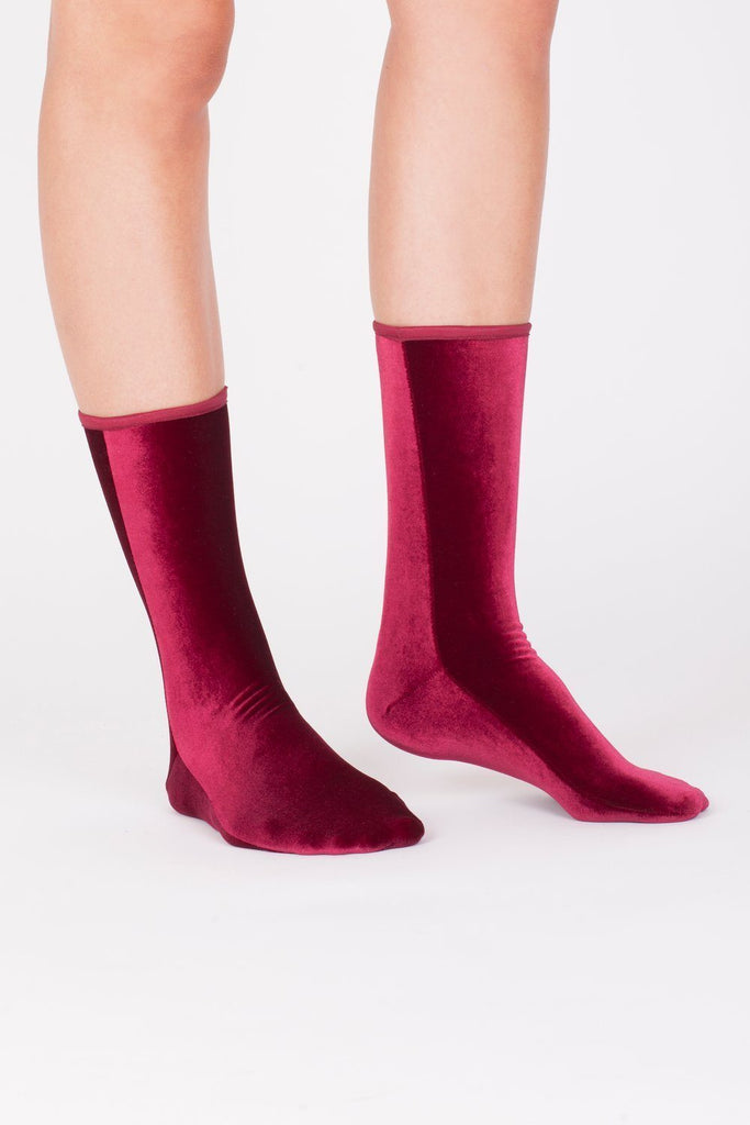 Velvet Sock's by Simone Wild / Wine