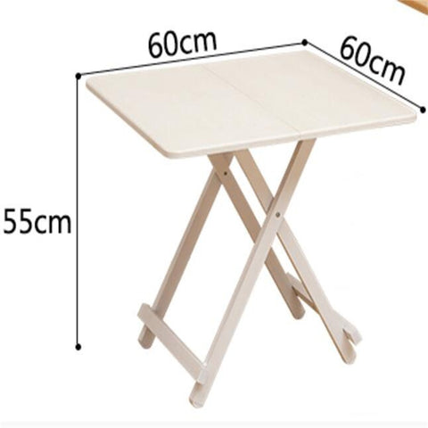 Portable Outdoor Square Folding Square Table