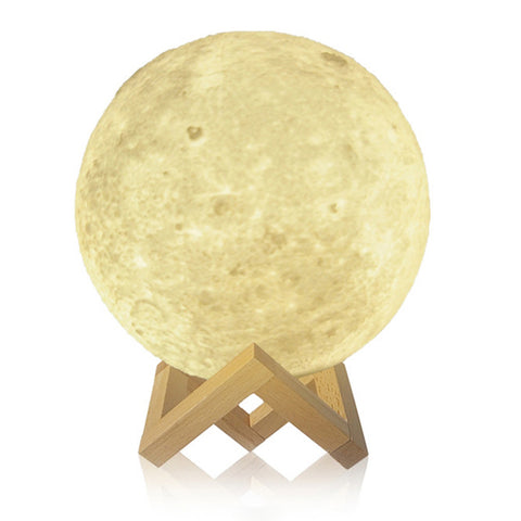 3D Print Night Moon LED Lamp