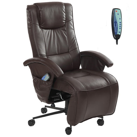 Adjustable Full Body Massage Chair Recliner W/ Footrest