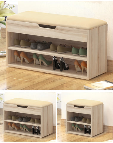 Multifunctional storage Shoes Cabinet shoe rack Stool style Shoe Cabinets