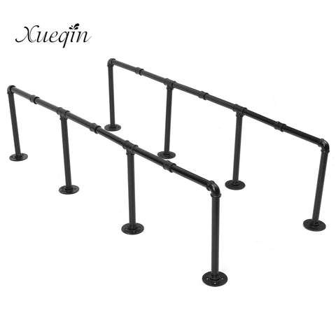 Industrial Retro Iron Pipe Wall Mount Shelving 145cm