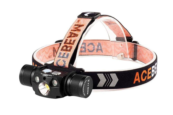 ** NOW HERE ** Acebeam H30 - 4000 Lumens HEADLAMP - 5 Years Warranty - includes battery - True Talon