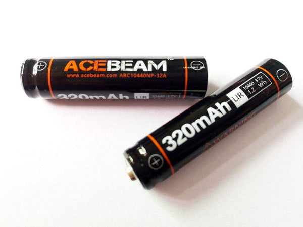 ACEBEAM IMR 10440 - 320 mAh Lithium-ion Battery - True Talon